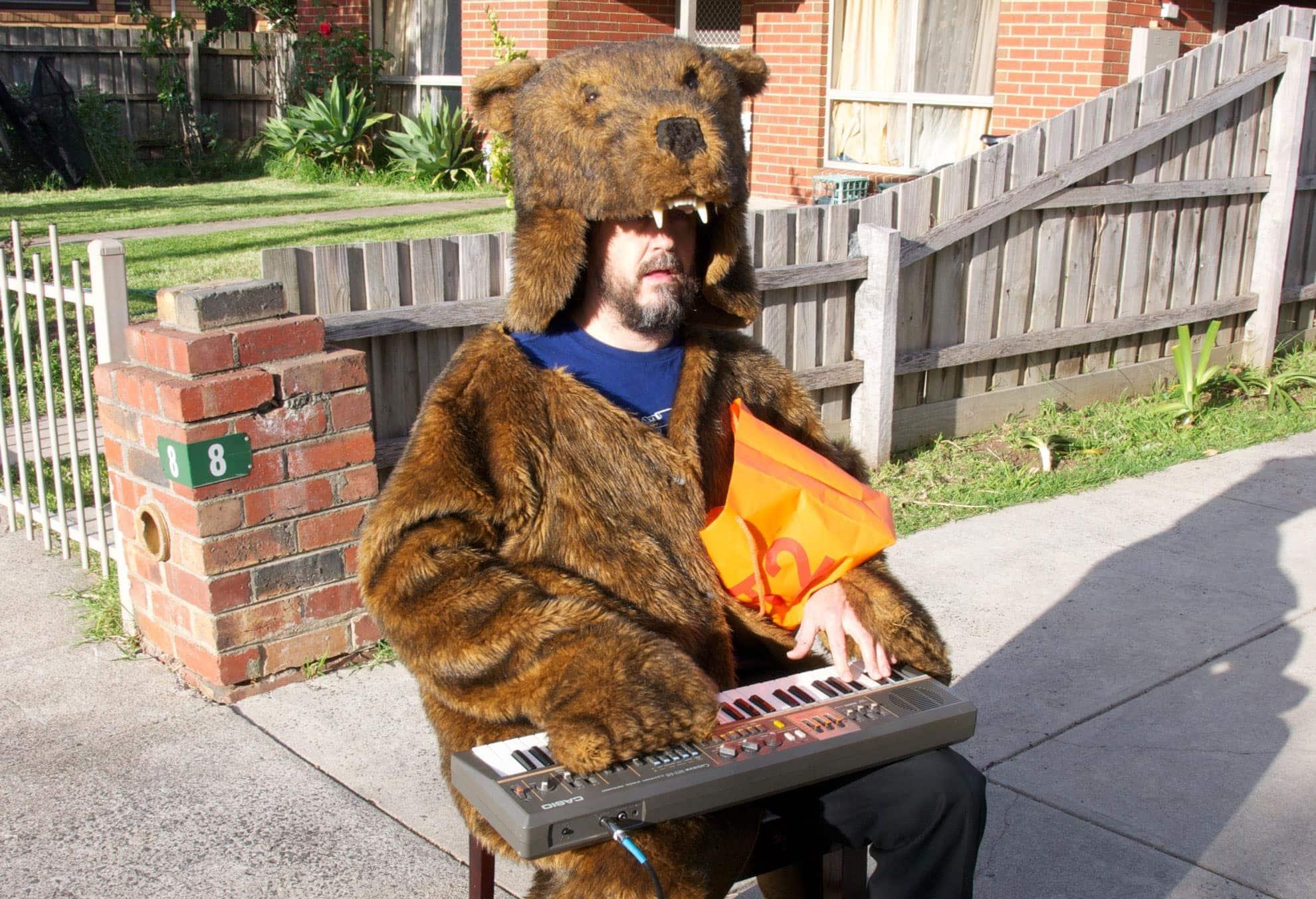 Barney McAll is a bear